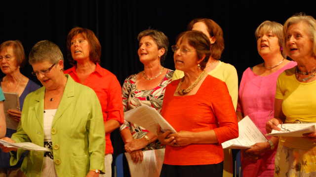 Community Singers Showcase Performance