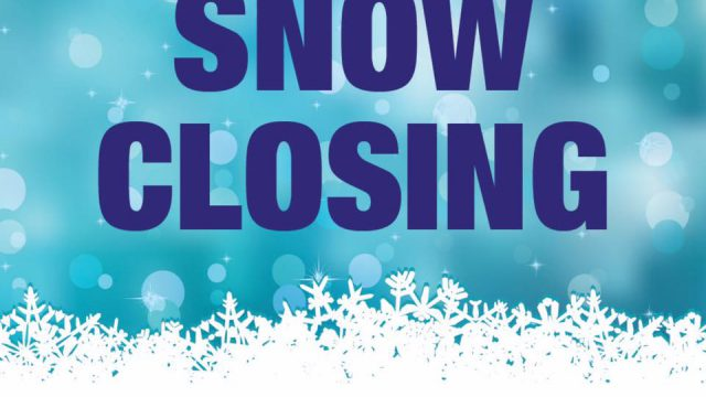 SNOW CLOSURE