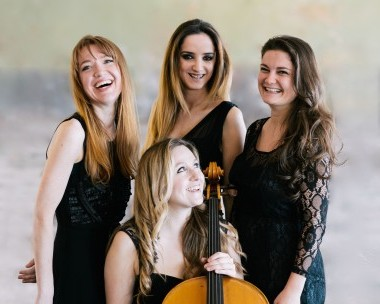 Pavão String Quartet Masterclass for the Coda Fiddle Orchestra