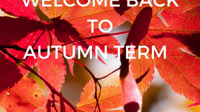 CODA AUTUMN TERM STARTS MONDAY 3RD SEPTEMBER