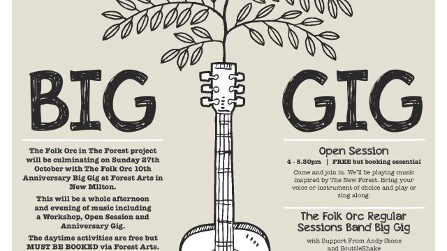 FOLK ORC BIG GIG SUNDAY 27TH OCTOBER